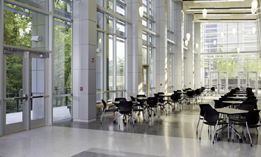 Atrium at Northern Wake Campus