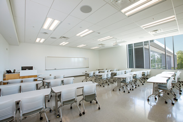 Classroom at Northern Wake Campus