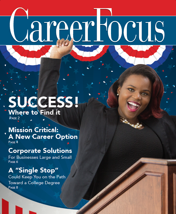 Fall 2016 Career Focus Cover