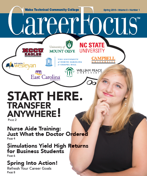 Summer 2015 Career Focus Cover