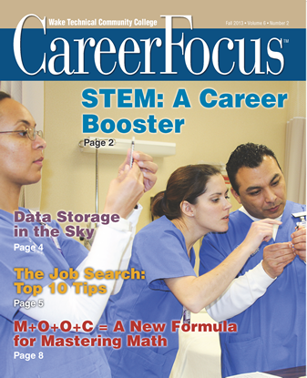 Career Focus - Fall 2013