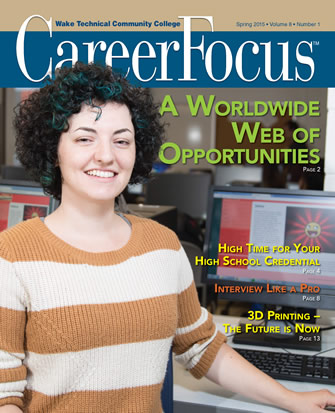 Spring 2015 Career Focus Cover