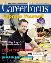 Spring 2014 Career Focus Cover