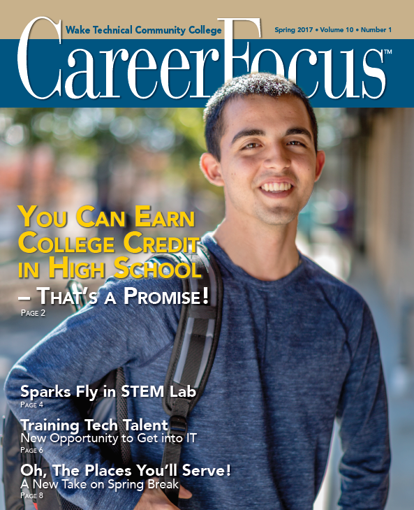 Spring 2017 Career Focus Cover