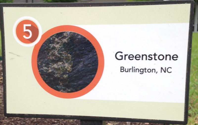Greenstone Sign