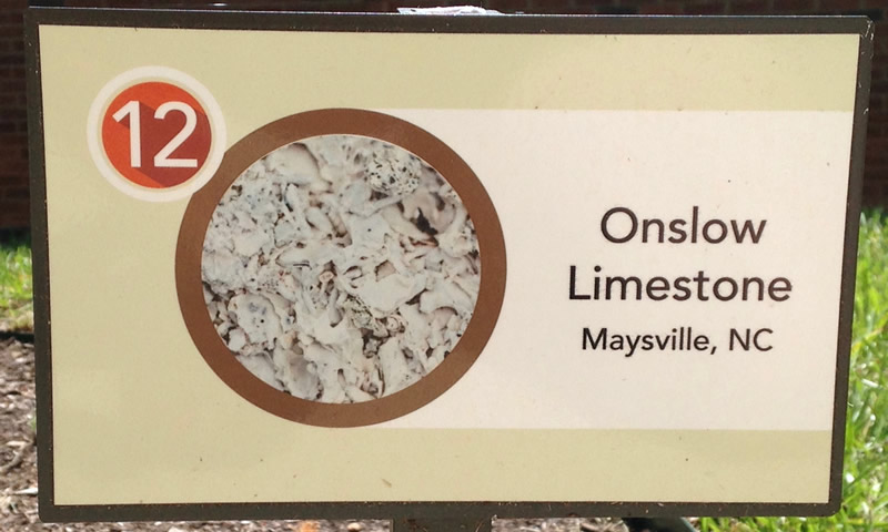 Onslow Limestone Sign