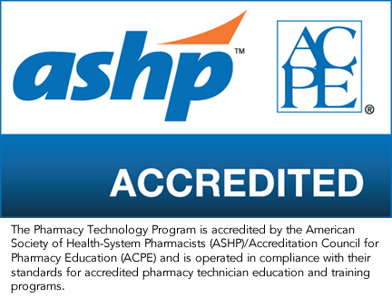Pharmacy Technology Accreditation Logo