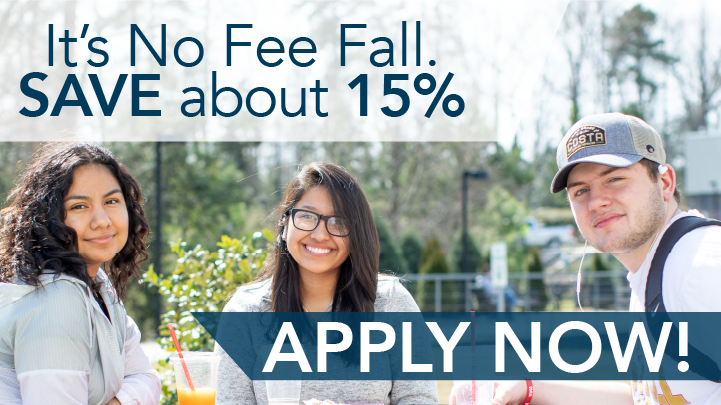 It's No Fee Fall. Save about 15%. Apply Now!