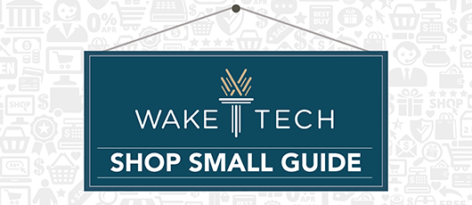Wake Tech Shop Small Guide #ShopSmall