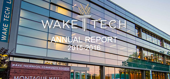 About Wake Tech Wake Technical Community College