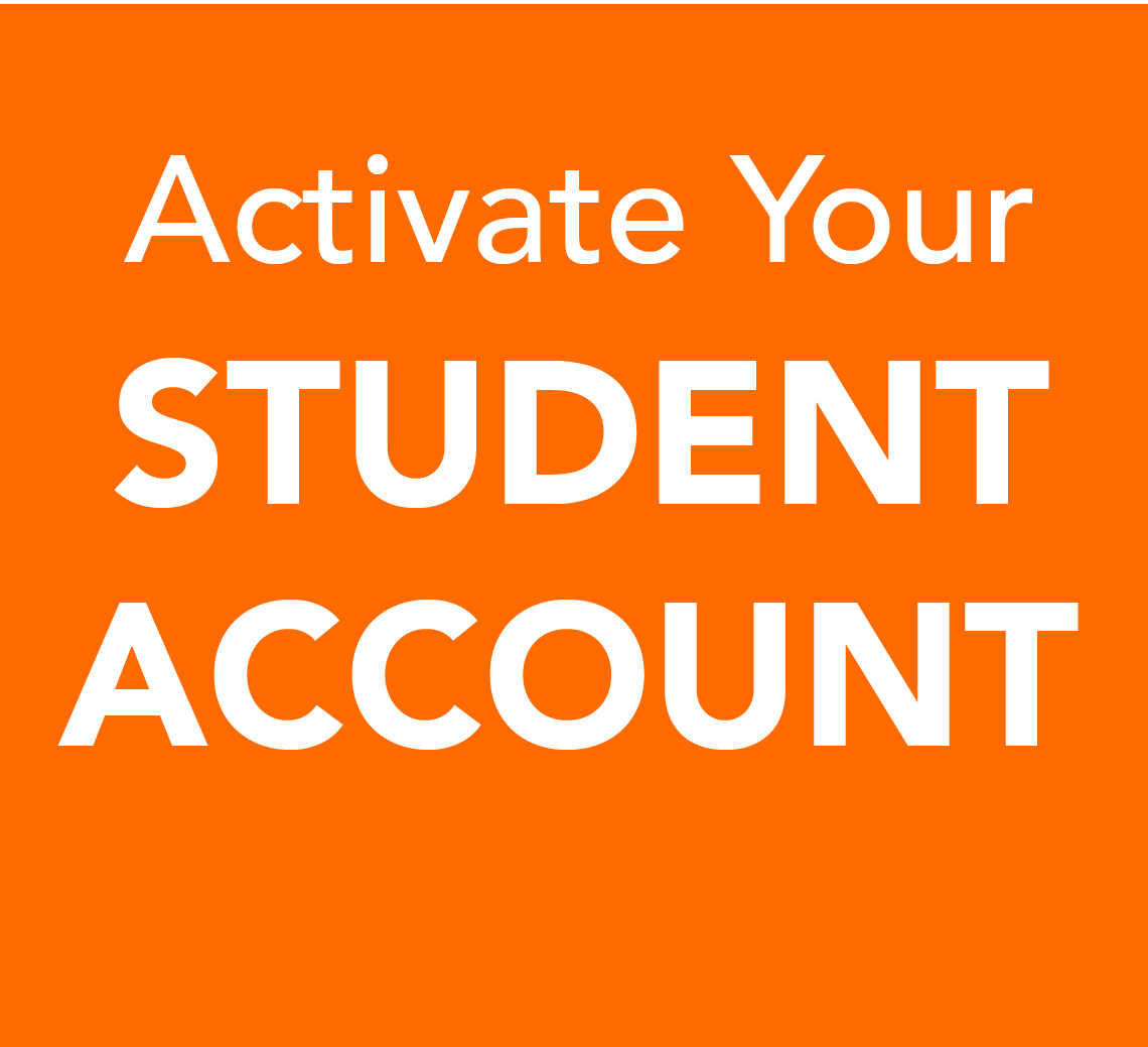 Activate your Student Account