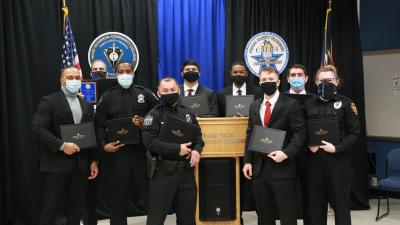 Law Enforcement Cadets Graduate