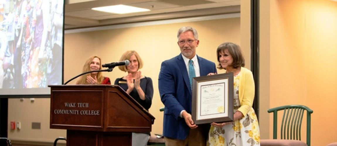 Engineering Educator Receives North Carolina's Highest Civilian Honor