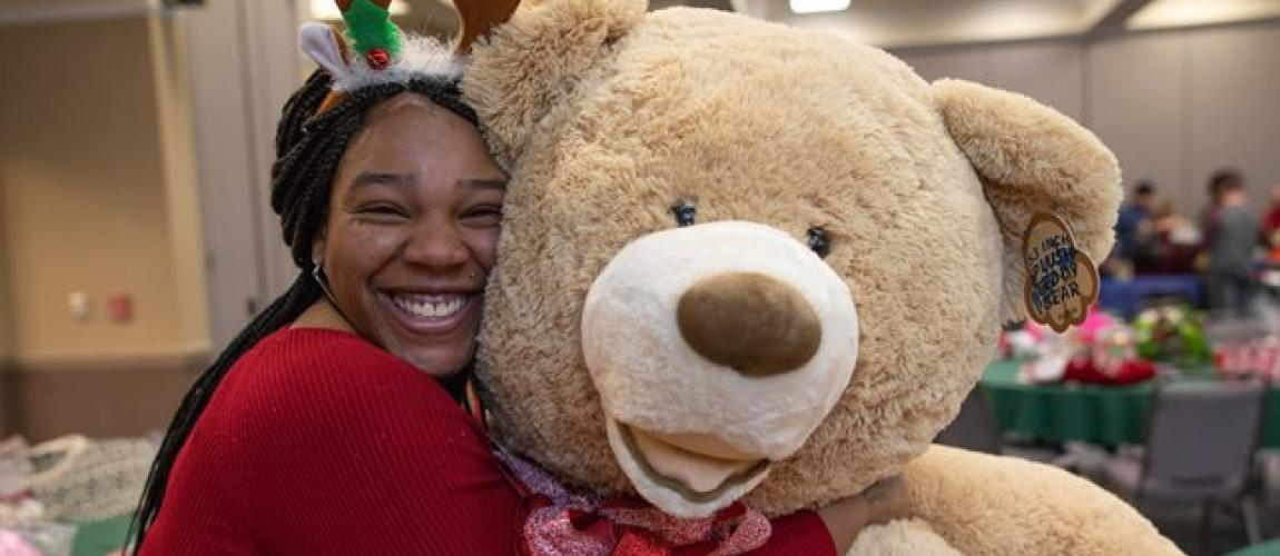 Former Foster Youth Celebrate Early Christmas