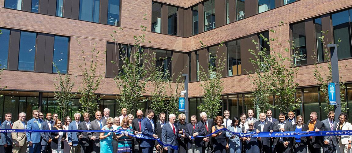 Wake Tech Opens Innovative RTP Campus