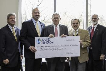 Duke Energy Announces $250,000 in Support for Critical Wake Tech Programs