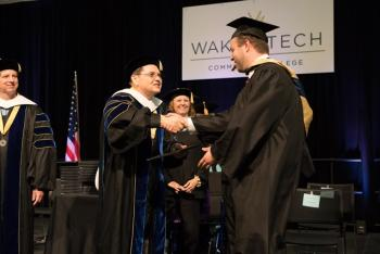 Wake Tech Hosts Commencement Exercises