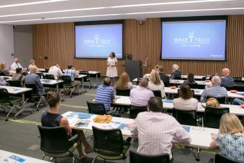 Business Leaders Get Sneak Peak of New RTP Campus