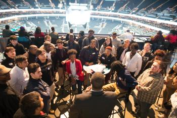 Charlotte Hornets Create a Buzz for Wake Tech Students