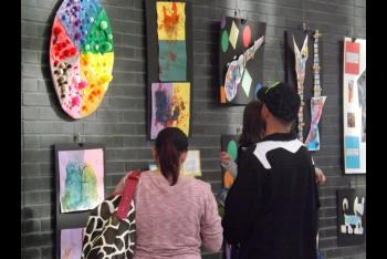 Children's Artwork Takes Center Stage At Wake Tech