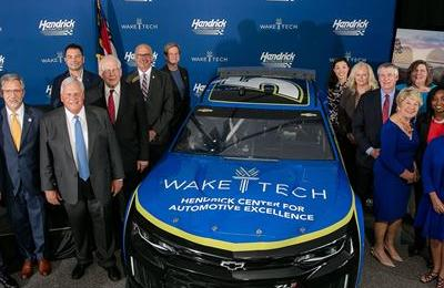 Hendrick Automotive Group Pledges $1 Million  as Construction Starts on Newest Wake Tech Facility