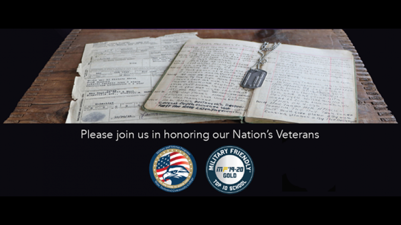 Please join us in honoring our Nation's Veterans