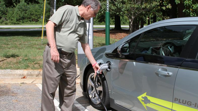 Wake Tech Adds Charging Stations for Electric Vehicles