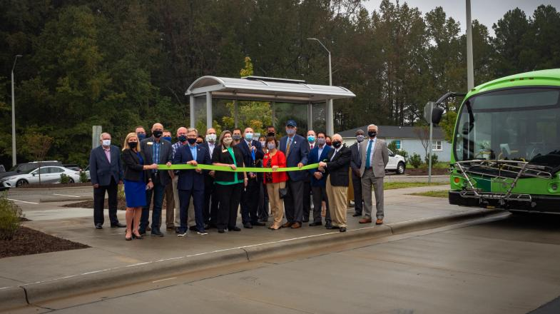 New Park-and-Ride Facility Opens at Wake Tech's Southern Wake Campus
