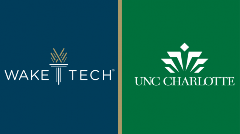 Wake Tech and UNC Charlotte Announce New Academic Partnership