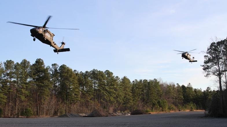 Army ROTC Cadets Participate in Air Assault Exercise
