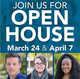 Join Us for Wake Tech Open House March 24th and April 7th