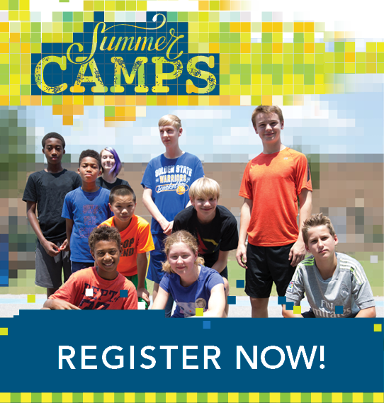 Summer Camps. Space is limited. Register Now!