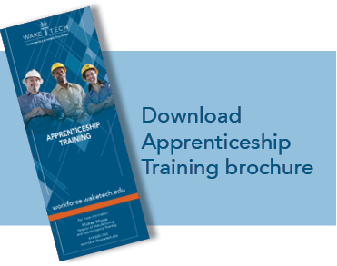 Download Apprenticeship Training brochure