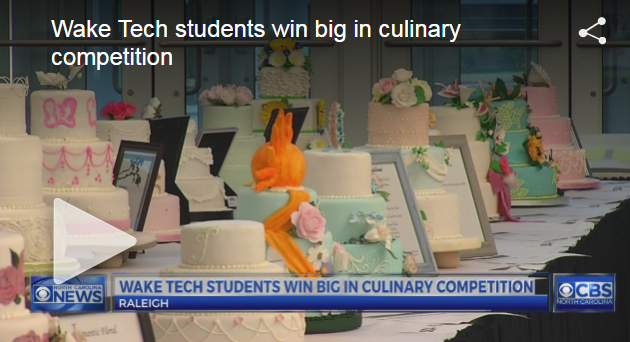 Wake Tech students win big in culinary competition