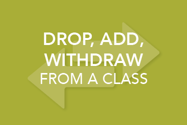 Drop, Add, Withdraw from a Class