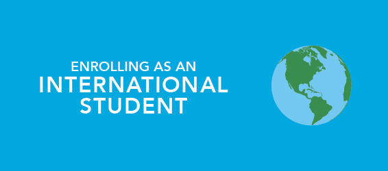 enrolling as an International Students