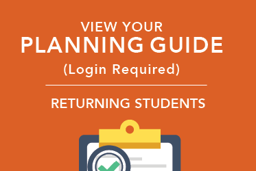 view your Planning Guide for returning students