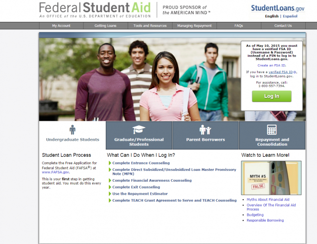 Federal Student Aid Graphic