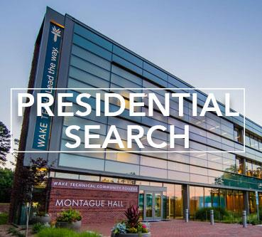 Presidential Search Information