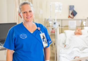 Leslie Whitehurst - From Patient to Nurse